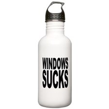 Windows Sucks Water Bottle