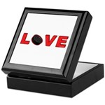 Hockey Love 3 Keepsake Box