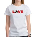 Soccer Love 4 Women's T-Shirt