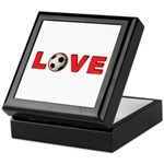 Soccer Love 4 Keepsake Box