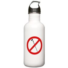 No More Hoes Water Bottle