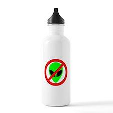 No More Aliens Water Bottle