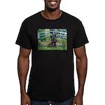 Bridge - Scotty #1 Men's Fitted T-Shirt (dark)
