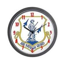 """Air National Guard"" Wall Clock"
