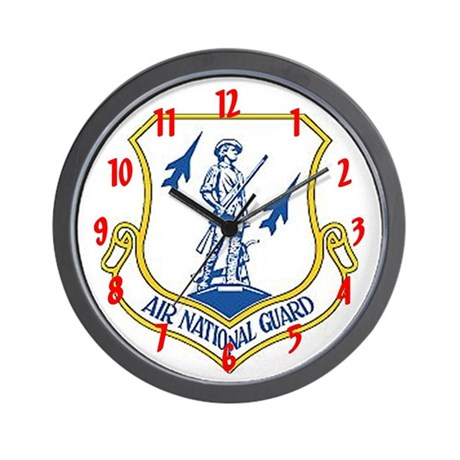 &amp;quot;Air National Guard&amp;quot; Wall Clock