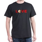 Volleyball Love 3 Dark T-Shirt