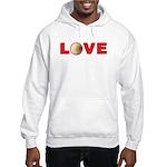 Volleyball Love 3 Hooded Sweatshirt