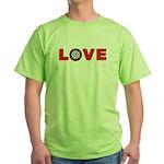 Darts Love 4 Green T-Shirt