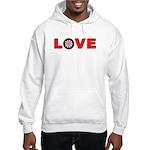 Darts Love 4 Hooded Sweatshirt