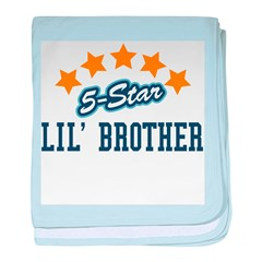 5-Star Little Brother baby blanket