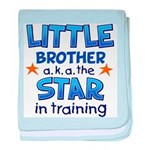 Little Brother - Star baby blanket