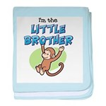 Little Brother - Monkey baby blanket