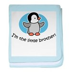 Little Brother -Penguin baby blanket