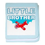 Little Brother - Airplane baby blanket