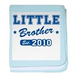 Little Brother - Team 2010 baby blanket