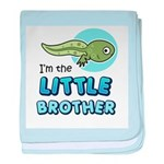 Little Brother - Tadpole baby blanket