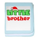 LIttle Brother - Christmas baby blanket