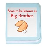 Big Brother - Fortune Cookie baby blanket
