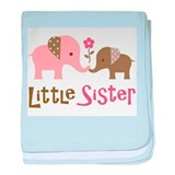 Little sister Baby Blankets