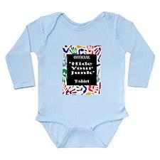 Patdown Long Sleeve Infant Bodysuit