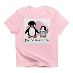 Little Sister - Penguin Infant T-Shirt