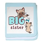 Big Sister (Kitty) baby blanket