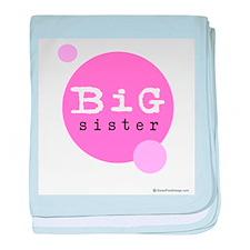 Big Sister (Pink) baby blanket