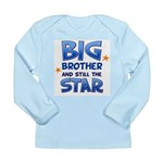 Big Brother - Star Long Sleeve Infant T-Shirt