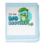 Big Brother Frog baby blanket