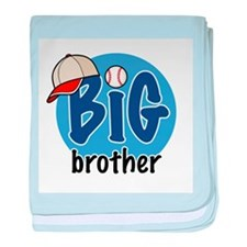 Big Brother (Baseball) baby blanket