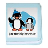 Big Brother (Penguin) baby blanket