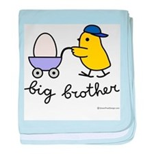 Big Brother (Chick and Egg) baby blanket