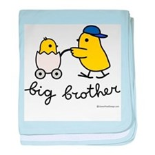 Big Brother (Chick) baby blanket