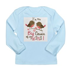 Big Cousin - Fairy Long Sleeve Infant T-Shirt