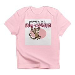 Big Cousin to be (Monkey) Infant T-Shirt