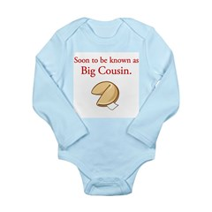 Big Cousin - Fortune Cookie Long Sleeve Infant Bod