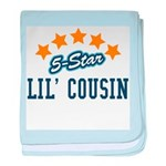 5-Star Little Cousin baby blanket