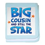 Big Cousin - Star (Blue) baby blanket