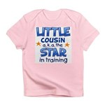 Little Cousin - Star (Blue) Infant T-Shirt