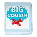 Big Cousin - Airplane baby blanket