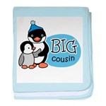 Big Cousin (Penguin) baby blanket