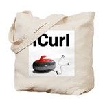 iCurl Tote Bag