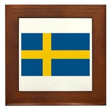 Swedish Pride Framed Tile