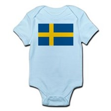 Swedish Pride Infant Bodysuit