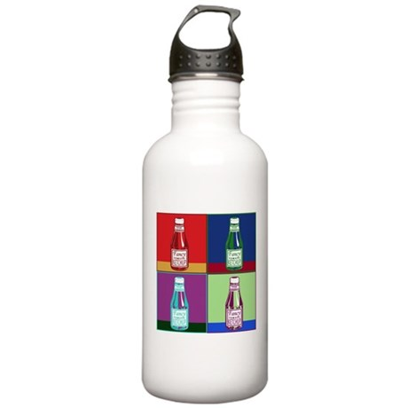Pop Art Ketchup Stainless Water Bottle 1.0L