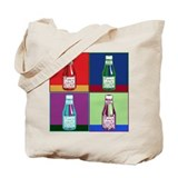 Pop Art Ketchup Tote Bag