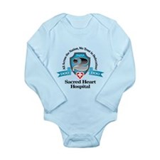 No 2 Long Sleeve Infant Bodysuit