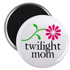 Twilight Flower Mom Magnet
