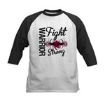 Fight Strong Myeloma Warrior Kids Baseball Jersey