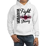 Fight Strong Myeloma Warrior Hooded Sweatshirt